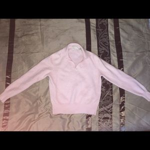 Cashmere sweater lord&Taylor baby pink
